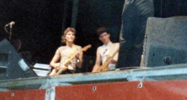 steve vai frank zappa tour roma 1982
