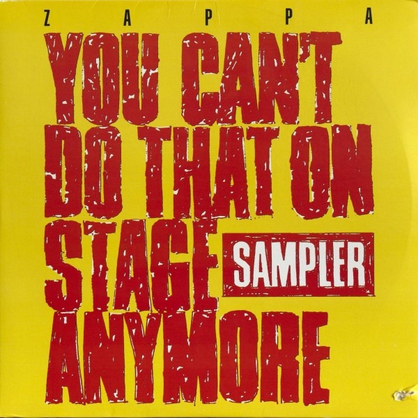 stevevai.it - Frank Zappa - You can't do that on stage anymore - Sampler