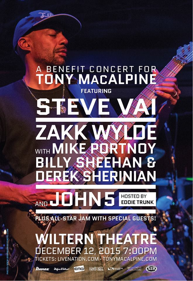 benefit for tony macalpine