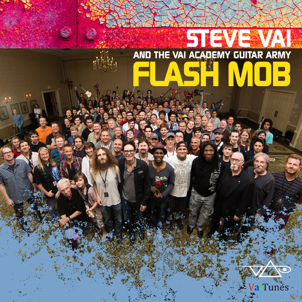 steve vai flash mob