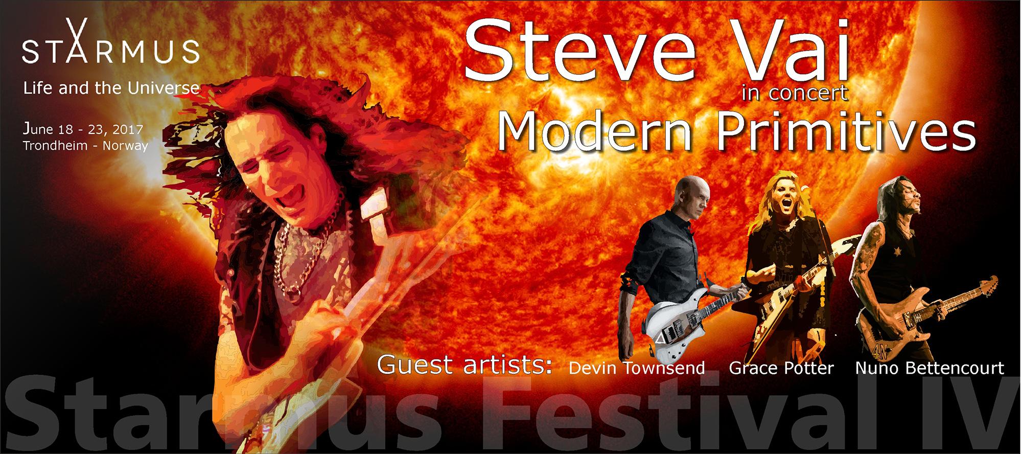 Steve Vai - Starmus IV