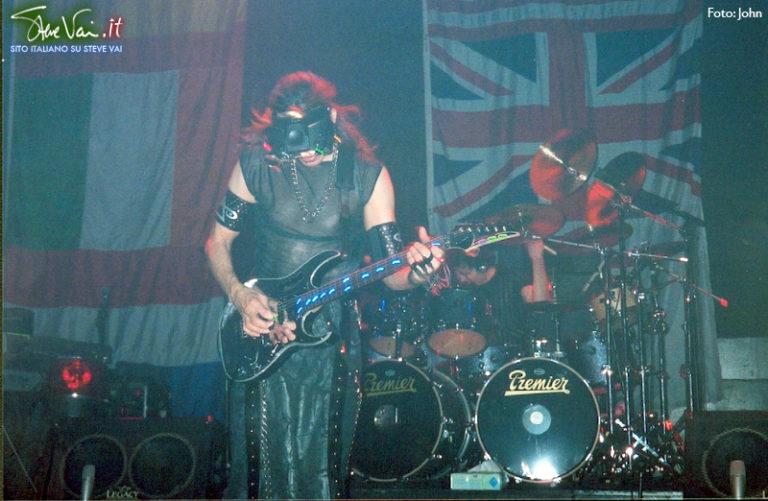 Steve Vai Londra Alive in an ultra World tour