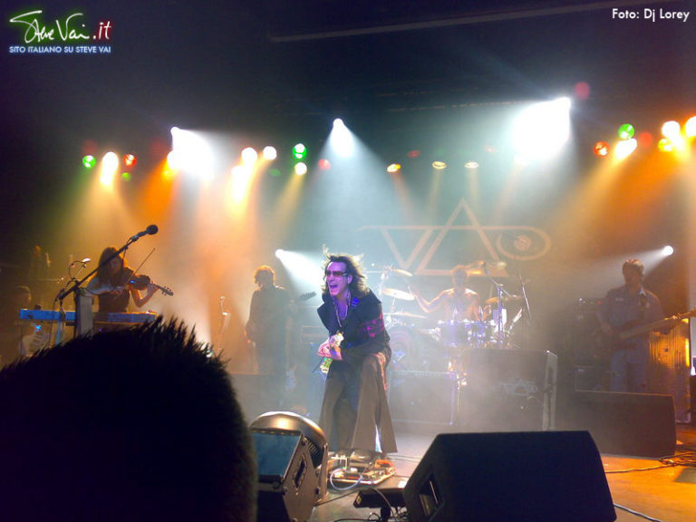 stevevai.it - Birmingham sound theories tour