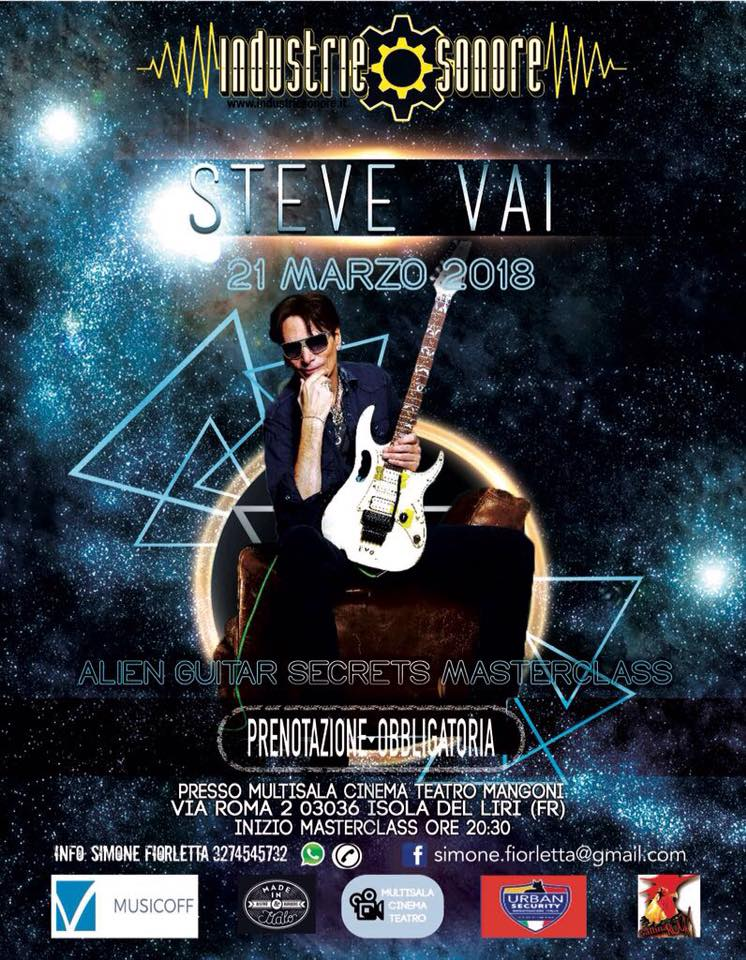 stevevai.it - steve vai isola del liri