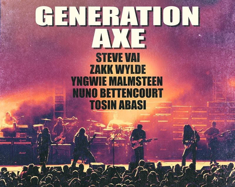 generation axe tour 2018