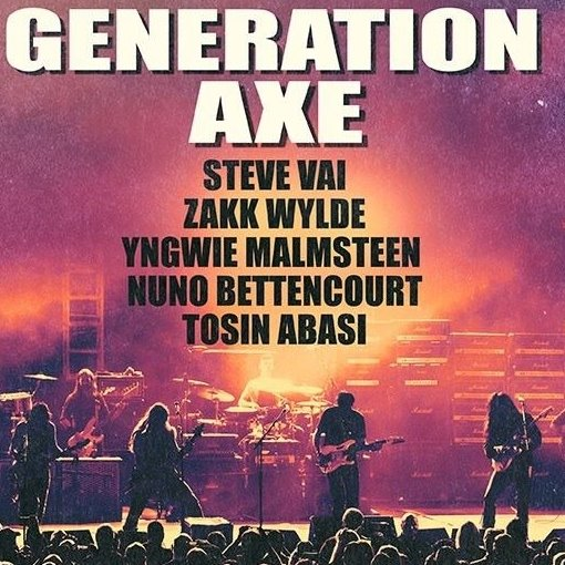 generation axe tour 2018