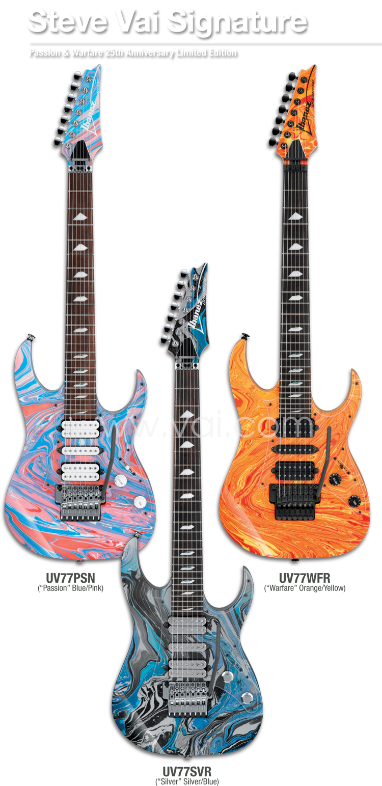 ibanez passion & warfare 25th