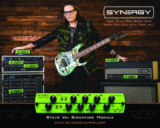 Steve Vai - Synergye Amps